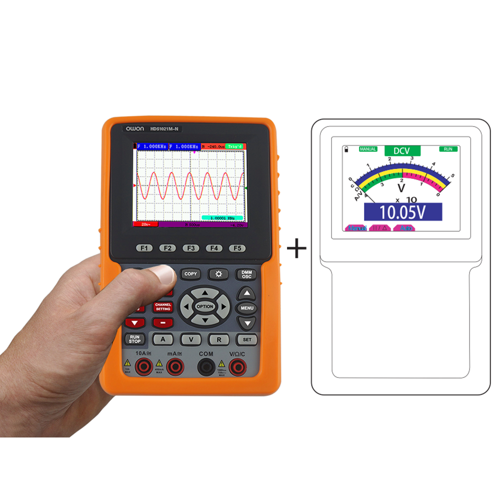 OWON HDS-N Series 1-CH Digital Oscilloscope