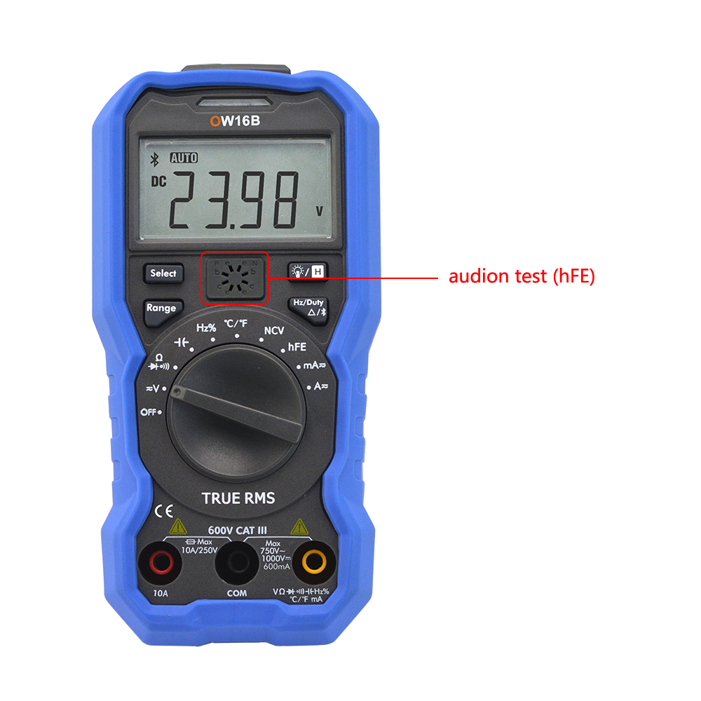 OWON 3 5/6 NCV Digital Multimeter Audion version